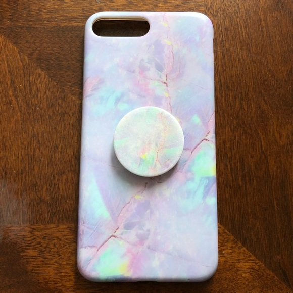 online store c743f 3d3be Velvet Caviar iPhone 7 Plus Case w/ Pop Socket